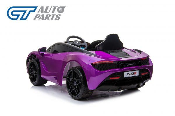 Licensed Mclaren 720S 12 Volt Painted Lantana Purple Parent Remote Ride On CAR-14257