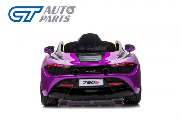 Licensed Mclaren 720S 12 Volt Painted Lantana Purple Parent Remote Ride On CAR-14258