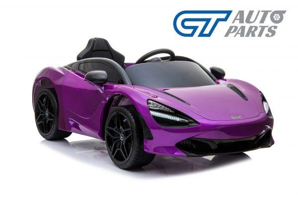 Licensed Mclaren 720S 12 Volt Painted Lantana Purple Parent Remote Ride On CAR-14260