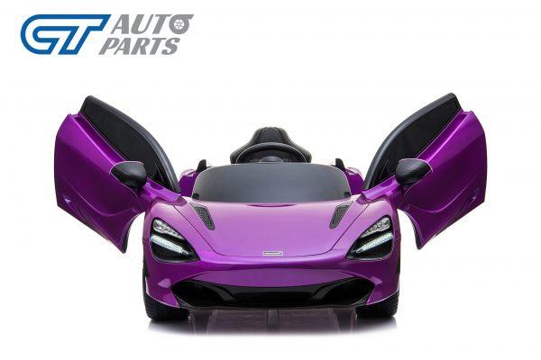 Licensed Mclaren 720S 12 Volt Painted Lantana Purple Parent Remote Ride On CAR-14261
