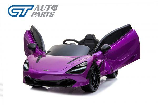Licensed Mclaren 720S 12 Volt Painted Lantana Purple Parent Remote Ride On CAR-14262