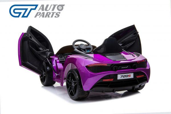 Licensed Mclaren 720S 12 Volt Painted Lantana Purple Parent Remote Ride On CAR-14263