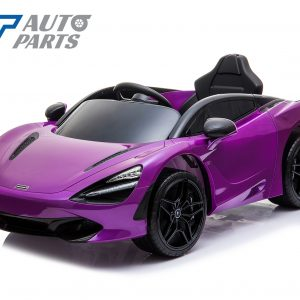 Licensed Mclaren 720S 12 Volt Painted Lantana Purple Parent Remote Ride On CAR-0