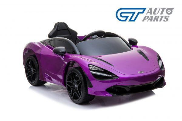 Licensed Mclaren 720S 12 Volt Painted Lantana Purple Parent Remote Ride On CAR-14266