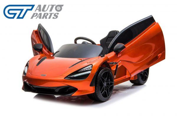Licensed Mclaren 720S 12 Volt Painted Azores Orange Parent Remote Ride On CAR-14214