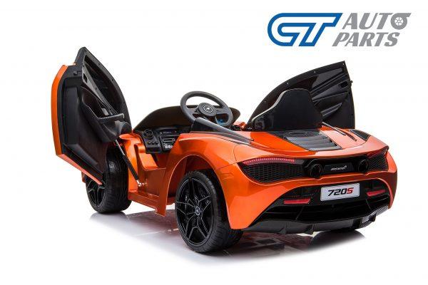 Licensed Mclaren 720S 12 Volt Painted Azores Orange Parent Remote Ride On CAR-14215