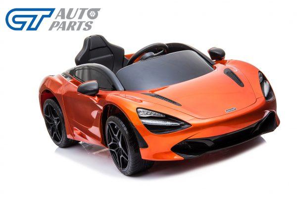 Licensed Mclaren 720S 12 Volt Painted Azores Orange Parent Remote Ride On CAR-0