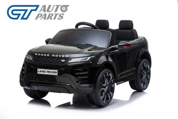 Official Licensed Land Rover Range Rover Evoque Ride On Car for Kids 2 Seats Black -0