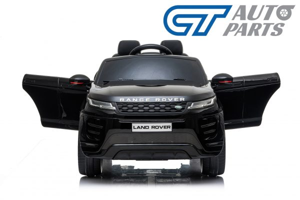 Official Licensed Land Rover Range Rover Evoque Ride On Car for Kids 2 Seats Black -14345