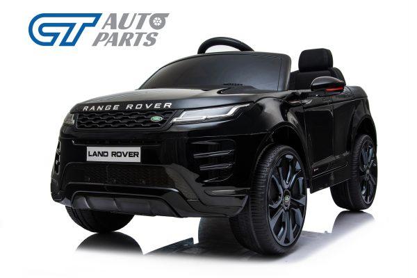 Official Licensed Land Rover Range Rover Evoque Ride On Car for Kids 2 Seats Black -14348