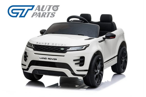Official Licensed Land Rover Range Rover Evoque Ride On Car for Kids 2 Seats WHITE-0