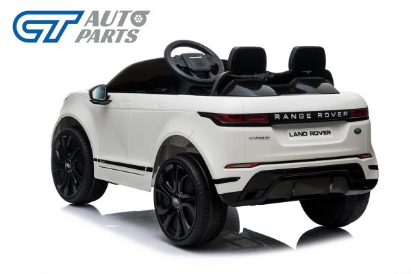 Official Licensed Land Rover Range Rover Evoque Ride On Car for Kids 2 Seats WHITE-14369