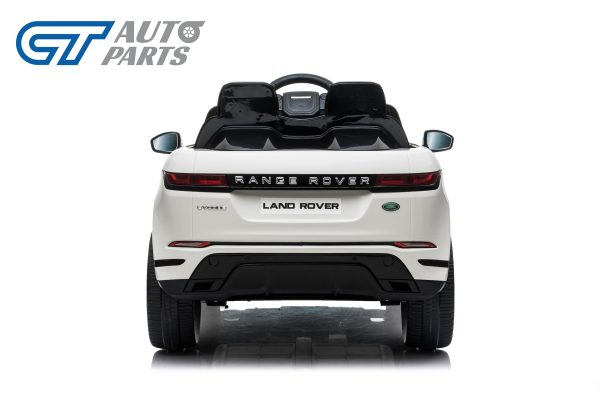Official Licensed Land Rover Range Rover Evoque Ride On Car for Kids 2 Seats WHITE-14370
