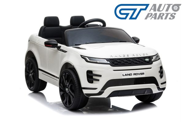 Official Licensed Land Rover Range Rover Evoque Ride On Car for Kids 2 Seats WHITE-14372