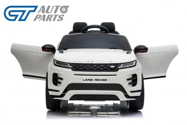 Official Licensed Land Rover Range Rover Evoque Ride On Car for Kids 2 Seats WHITE-14373