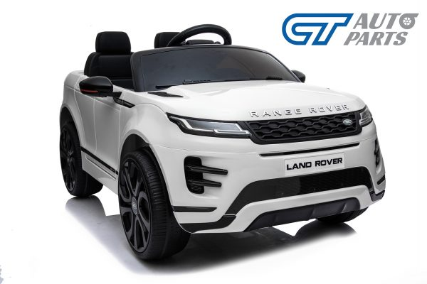 Official Licensed Land Rover Range Rover Evoque Ride On Car for Kids 2 Seats WHITE-14377
