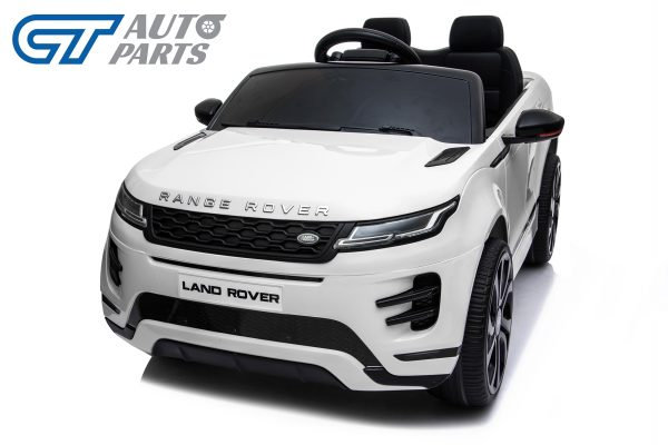 Official Licensed Land Rover Range Rover Evoque Ride On Car for Kids 2 Seats WHITE-14378