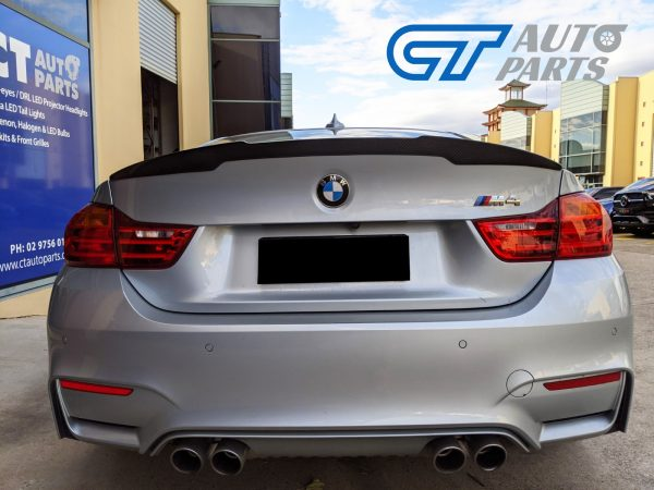 M4 M-Performance Style ABS Plastic Gloss Black Trunk Spoiler for 2014-2018 BMW M4 F82 Coupe -14391