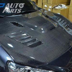 MP Vented Carbon Fibre Bonnet / Hood for 2012-2020 Toyota 86 Subaru BRZ -0