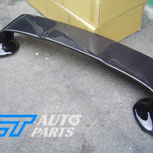 EVO X Style CARBON Trunk Rear Spoiler for 07-18 Mitsubishi Lancer CJ VRX-0
