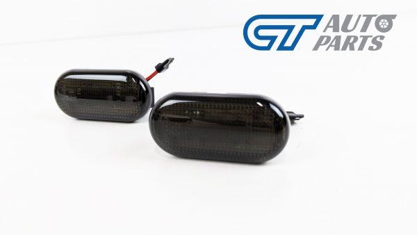 Smoke LED side indicators side marker fender lights for 04-19 Nissan NAVARA D40 -0