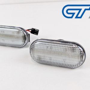 Clear LED side indicators side marker fender lights for 03-09 Nissan 350Z Z33 Fairlady -0