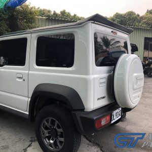 Gloss Black Duckbill Rear Roof Spoiler for 19-20 Suzuki JIMNY -0