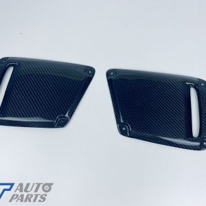 Delta Speed Style Carbon Front Bezels Cover for Subaru WRX STI 2018-2020-0